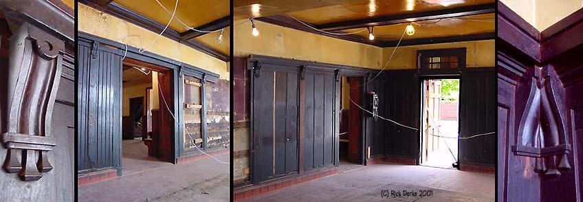 The Deer Park Stairs/upstairs Under Demolition/restoration June 2001photos  (C) Rick Darke